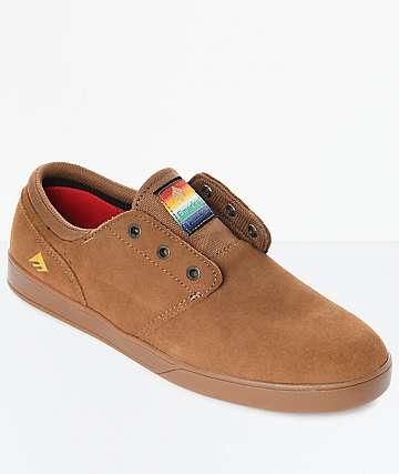 Zapatos marrones de primavera Etnies Jameson para hombre Oxf2Xi