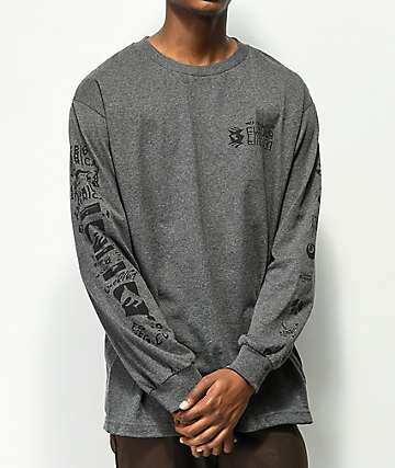 Emerica New Low Grey Long Sleeve T-Shirt