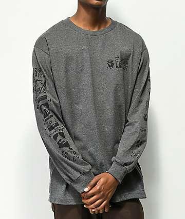 Emerica New Low camiseta gris de manga larga