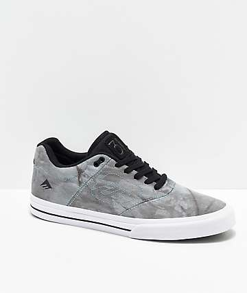 Emerica Reynolds 3 G6 Vulc Blue   Grey Wash Skate Shoes eb704422dd5be
