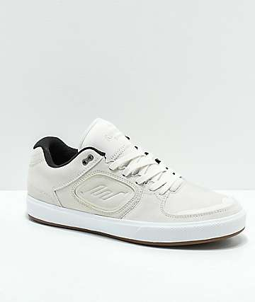 Emerica Reynolds G6 White Skate Shoes