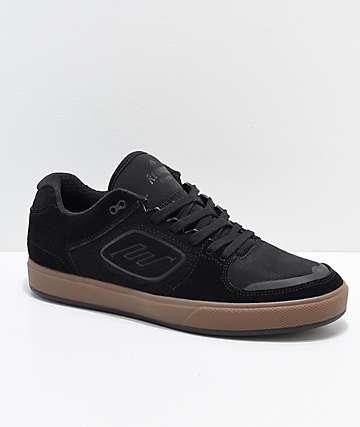 Emerica Reynolds G6 zapatos de skate de ante negro y goma