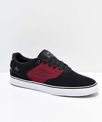 Emerica Reynolds Low Vulc Blackberry zapatos de skate