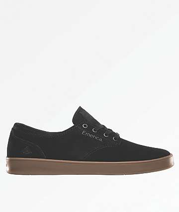 Emerica Romero Laced Black, Charcoal & Gum Shoes
