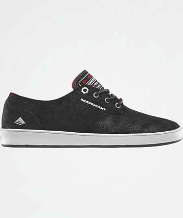 Emerica Romero Laced x Indy Black Shoes