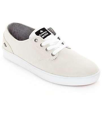 Emerica Romero Laced zapatos de skate blancos