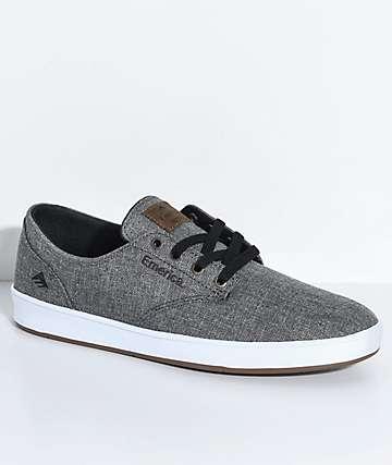 Emerica Romero zapatos de skate en gris jaspeado