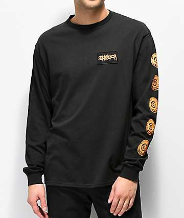 Emerica Skulleye Black Long Sleeve T-Shirt