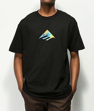 Emerica Triangle Black T-Shirt