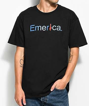 Emerica x Deathwish camiseta negra