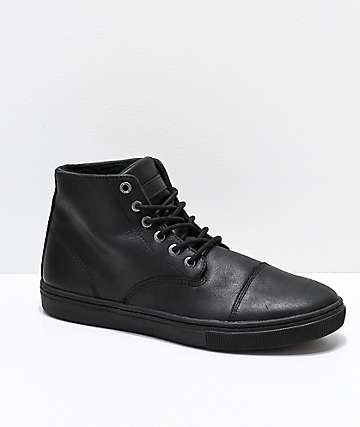 Emerica x Reserve Shifter High Black Skate Shoes