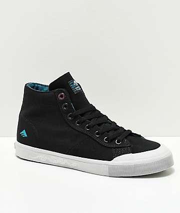 Emerica x Toy Machine Indicador zapatos de skate en negro y gris