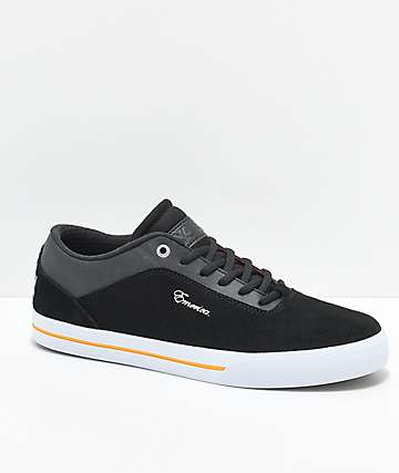 Emerica x Vol. 4  G-Code Re-Up zapatos de skate en negro, blanco y color dorado