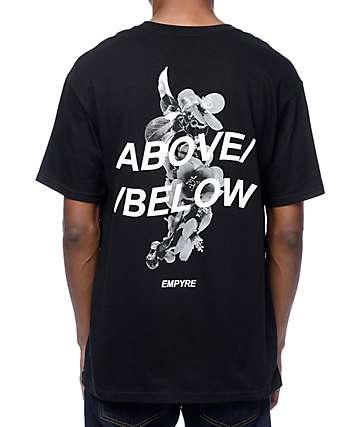 Empyre Above Below camiseta en negro