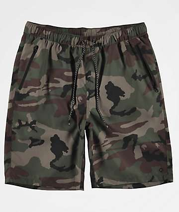 5865d9d59b Empyre Adder Camo Board Shorts