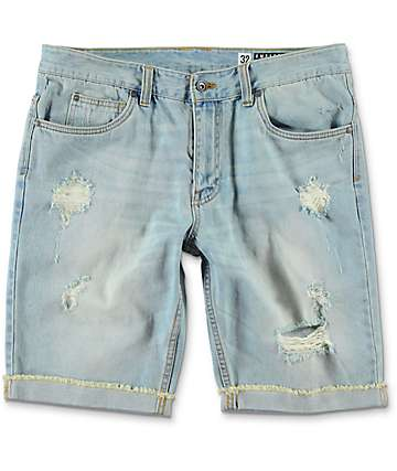 Empyre Albany Westport Distressed Denim Shorts