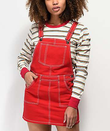 Empyre Allysha Red Overall Dress