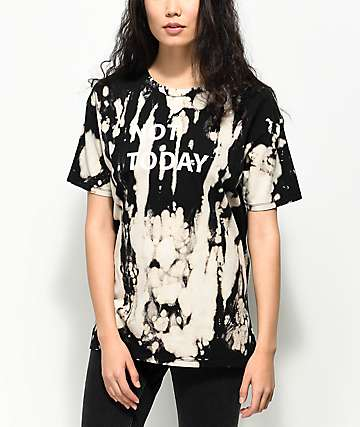 Empyre Annettey Not Today Black Bleach T-Shirt
