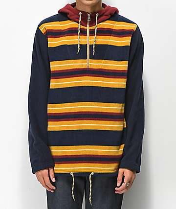 Empyre Apres Ski Striped Tech Fleece