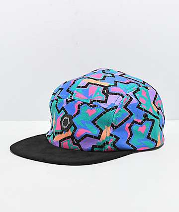 978d986931eb9 Empyre Aspen Throwback 5 Panel Strapback Hat