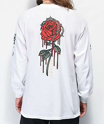 Empyre Barbed White Long Sleeve T-Shirt