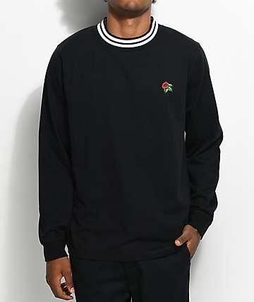 Empyre Black Crew Neck Ringer T-Shirt