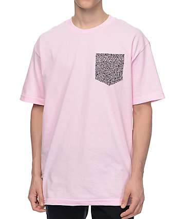 Empyre Boogaloo Pink Pocket T-Shirt