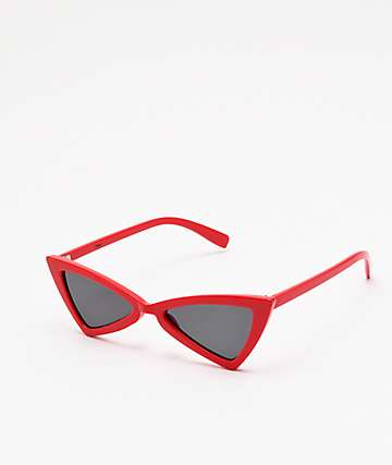 Empyre Bota Bottie Red Sunglasses