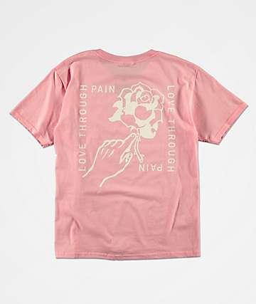 Empyre Boys Ardent Rose Pink T-Shirt