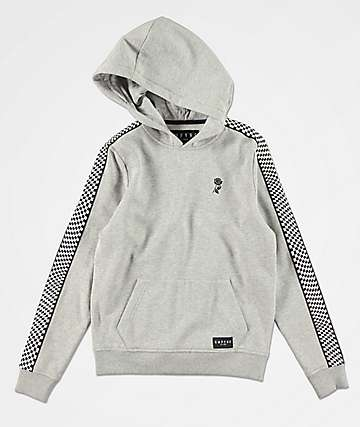 Empyre Boys Final Lap Grey & Checkered Hoodie