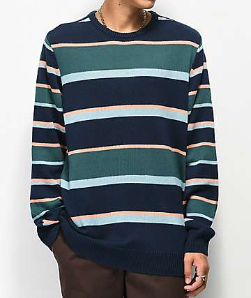 Empyre Brock Striped Crew Neck Sweater