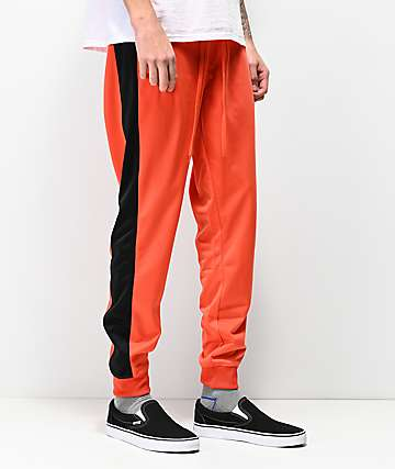 Empyre Caples Red & Black Jogger Sweatpants