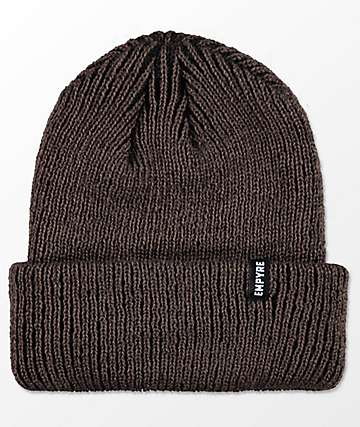 Empyre Carter Marled Brown Beanie