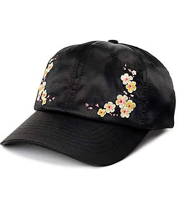 Empyre Cora Satin Black Baseball Hat