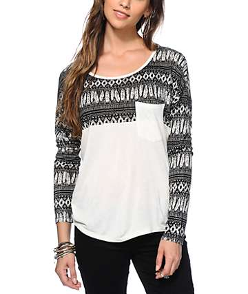 Empyre Corey Feathers Top