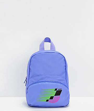 Empyre Dahlia Racing Purple Mini Backpack