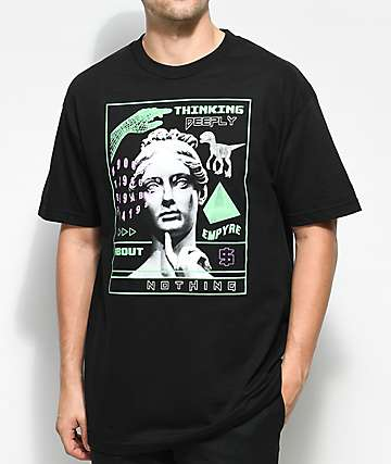 Empyre Deep Thoughts Black T-Shirt