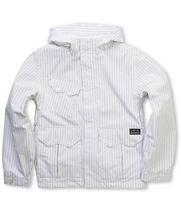Empyre Descender Boys White 10K Snowboard Jacket 8f3314c83