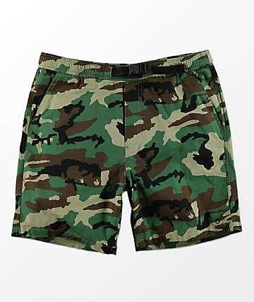 Empyre Dixon shorts con pretina elástica de camuflaje