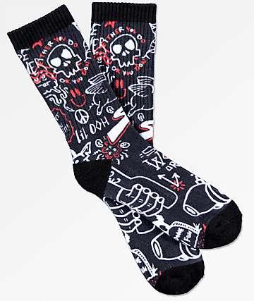 Empyre Done With Fun Crew Socks