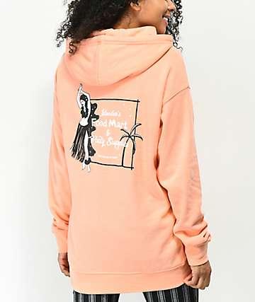 Empyre Dottie Hula Girl sudadera con capucha naranja