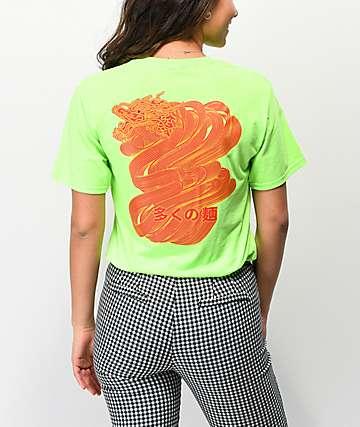 Empyre Dragon Noodles camiseta verde neón