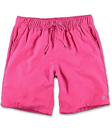 Empyre Dubtub board shorts en rosa neon