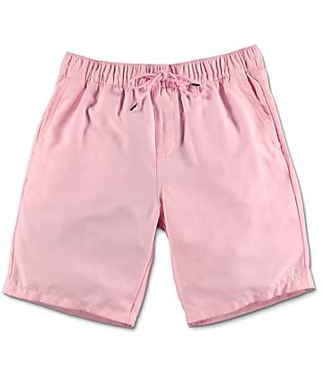 Empyre Dubtub shorts de baño con pretina elástica en rosa