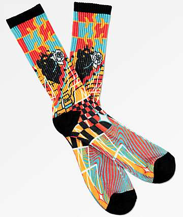 Empyre Escape Multi Crew Socks