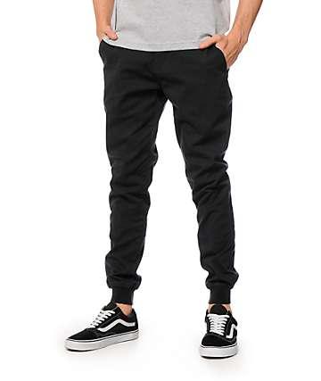 Empyre Eureka pantalones joggers de tela asargada