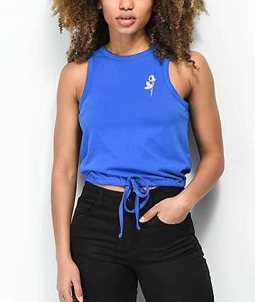 Empyre Evaleen camiseta sin  mangas azul