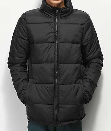 Empyre Expanded chaqueta negra aislada