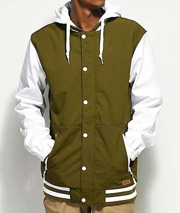 Empyre Express Varsity Olive 10K Softshell Jacket