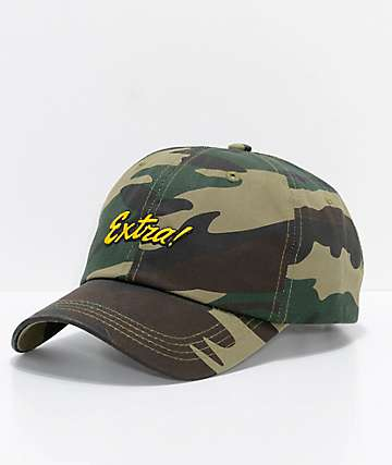 Empyre Extra Camo Strapback Hat